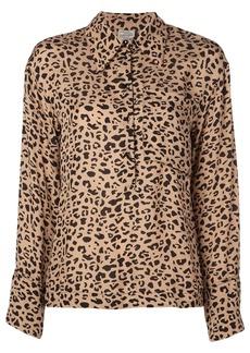 Baum und Pferdgarten leopard print shirt