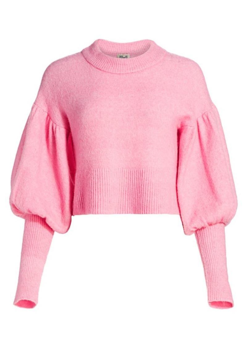 Baum und Pferdgarten Romance & Rituals Coline Puff-Sleeve Sweater