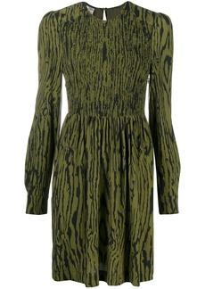 Baum und Pferdgarten wood grain print dress