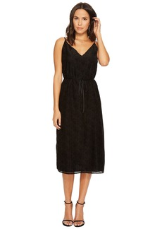 BB Dakota Alayna Burnout Velvet Midi Dress
