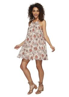 BB Dakota Alissa Printed Trapeze Dress