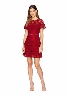 BB Dakota Aphrodite Ruffle Lace Dress