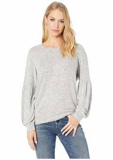 BB Dakota Are You Shirred Sweatshirt