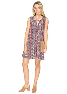 BB Dakota Artis Printed Overlap Dress