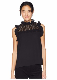BB Dakota Bad Romance Ruffle Top