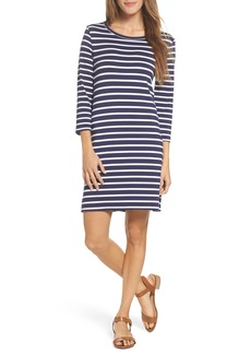 BB Dakota Adelene Stripe Knit Shift Dress