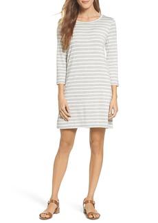 BB Dakota Adelene Stripe Knit Shift Dress