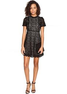 BB Dakota Adelina Contrast Lace Dress
