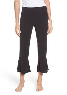 BB Dakota Aden Ruffle Hem Lounge Pants