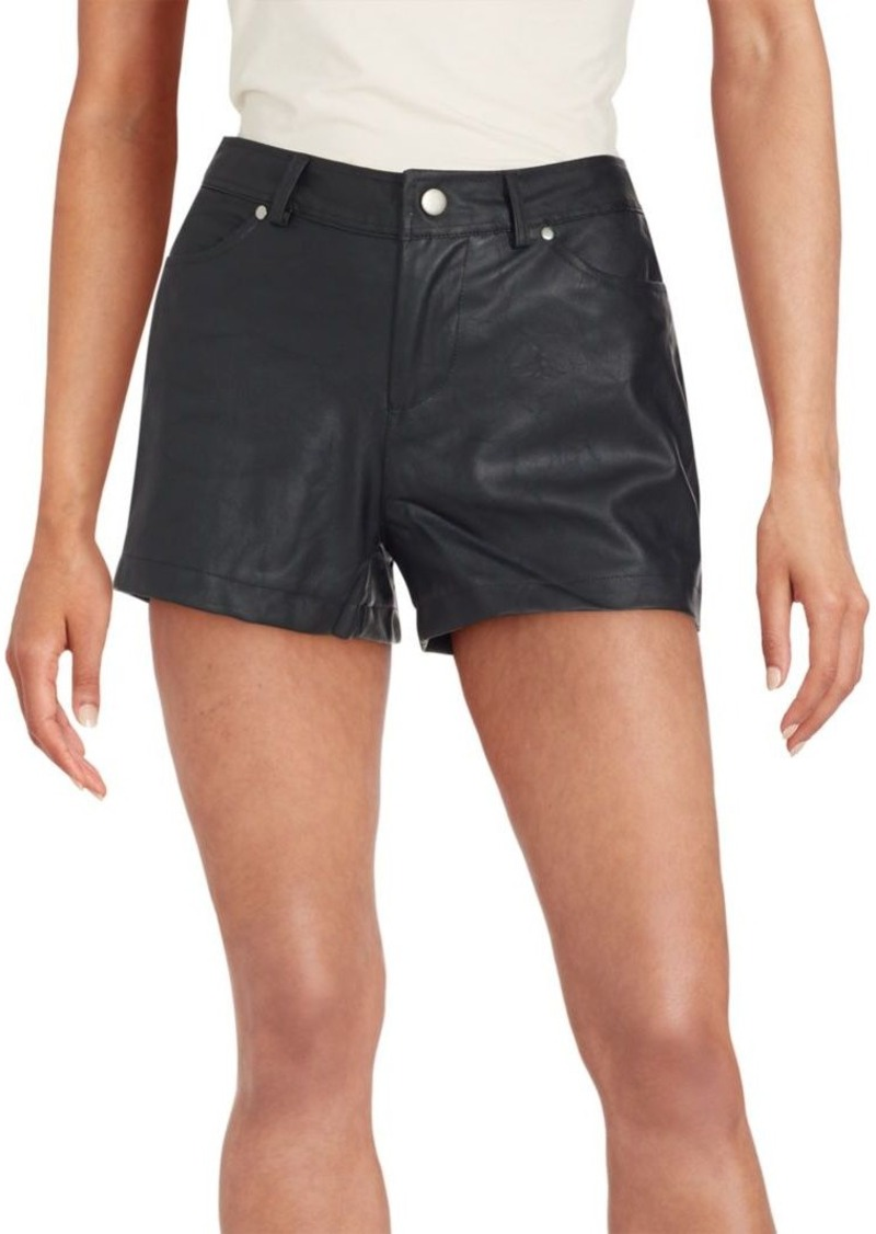 BB Dakota Aime Faux Leather Shorts