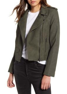 BB Dakota Ain't It Cool Faux Leather Jacket