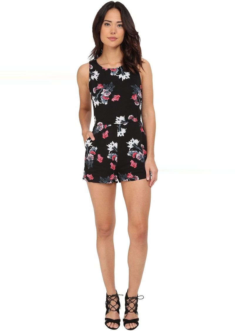 BB Dakota Aniston Rose Garden Printed Heavy Rayon Romper