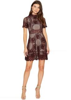 BB Dakota Aria Short Sleeve Lace Dress