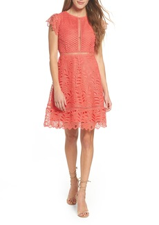 BB Dakota Ariane Mix Lace Dress