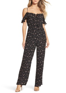 BB Dakota Arlean Off the Shoulder Jumpsuit