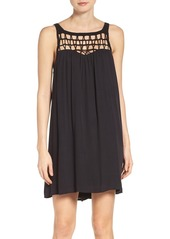 BB Dakota Astor Ray Crochet Shift Dress
