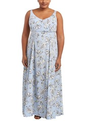 BB DAKOTA BB Dakota Plus Printed Maxi Dress