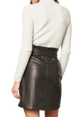 BB Dakota x Steve Madden Belt So Real Faux Leather Skirt