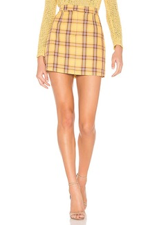 BB Dakota Best I Ever Plaid Skirt