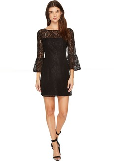 BB Dakota Billie Flutter Sleeve Lace Dress
