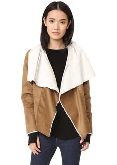 BB Dakota Bourne Faux Shearling Jacket