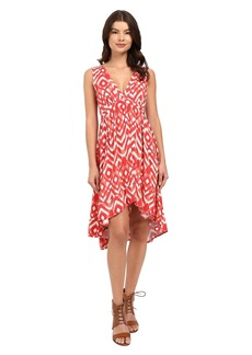 BB Dakota Brianna Jallabah Printed Rayon Dress