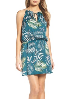 BB Dakota Brooks Amazon Print Blouson Dress
