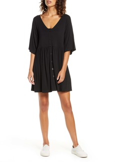 BB Dakota Button Front Shirtdress