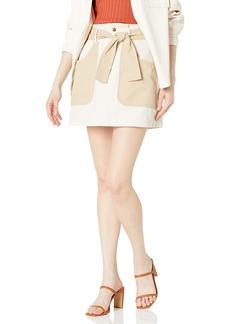 BB Dakota by Steve Madden Women's Day in The Life Skirt TAN
