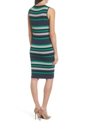 BB Dakota Callie Stripe Body-Con Dress