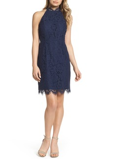 BB Dakota 'Cara' High Neck Lace Dress
