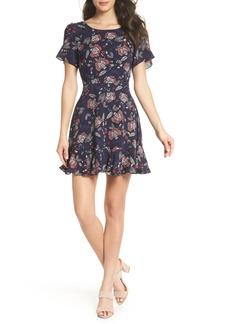 BB Dakota Cassidy Floral Minidress