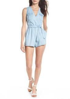 BB Dakota Chambray Romper