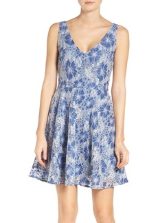 BB Dakota Chastain Fit & Flare Dress