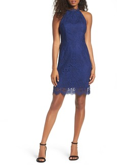 BB Dakota Cherie Lace Sheath Dress