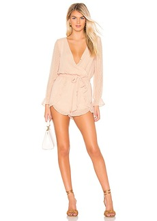 BB Dakota Chiffon My Mind Romper