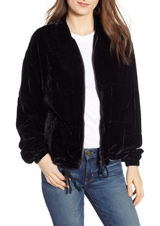 BB Dakota Chillax Velvet Jacket