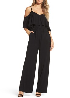 BB Dakota Claudette Cold-Shoulder Jumpsuit
