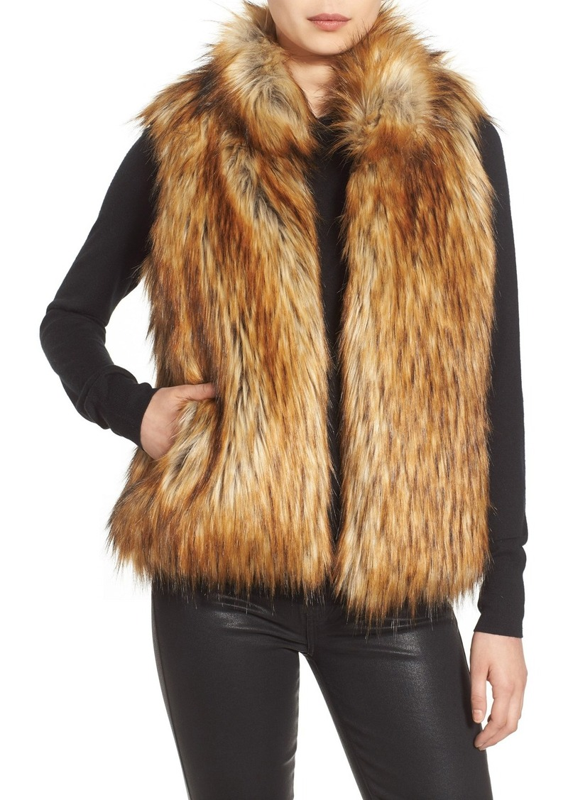 BB Dakota 'Colton' Faux Fur Vest