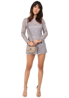 BB Dakota Crescent Lace Romper
