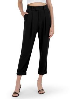 BB Dakota Crop Motion Pleat Front Pants