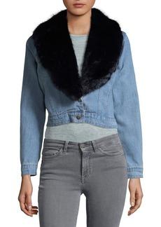 BB Dakota Denim Crop Jacket