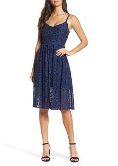 BB Dakota Dinah Lace Fit & Flare Dress