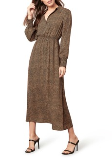 BB Dakota Dot Fired Long Sleeve Dress