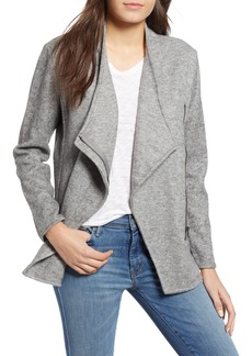 BB Dakota Downtown Zip Knit Jacket
