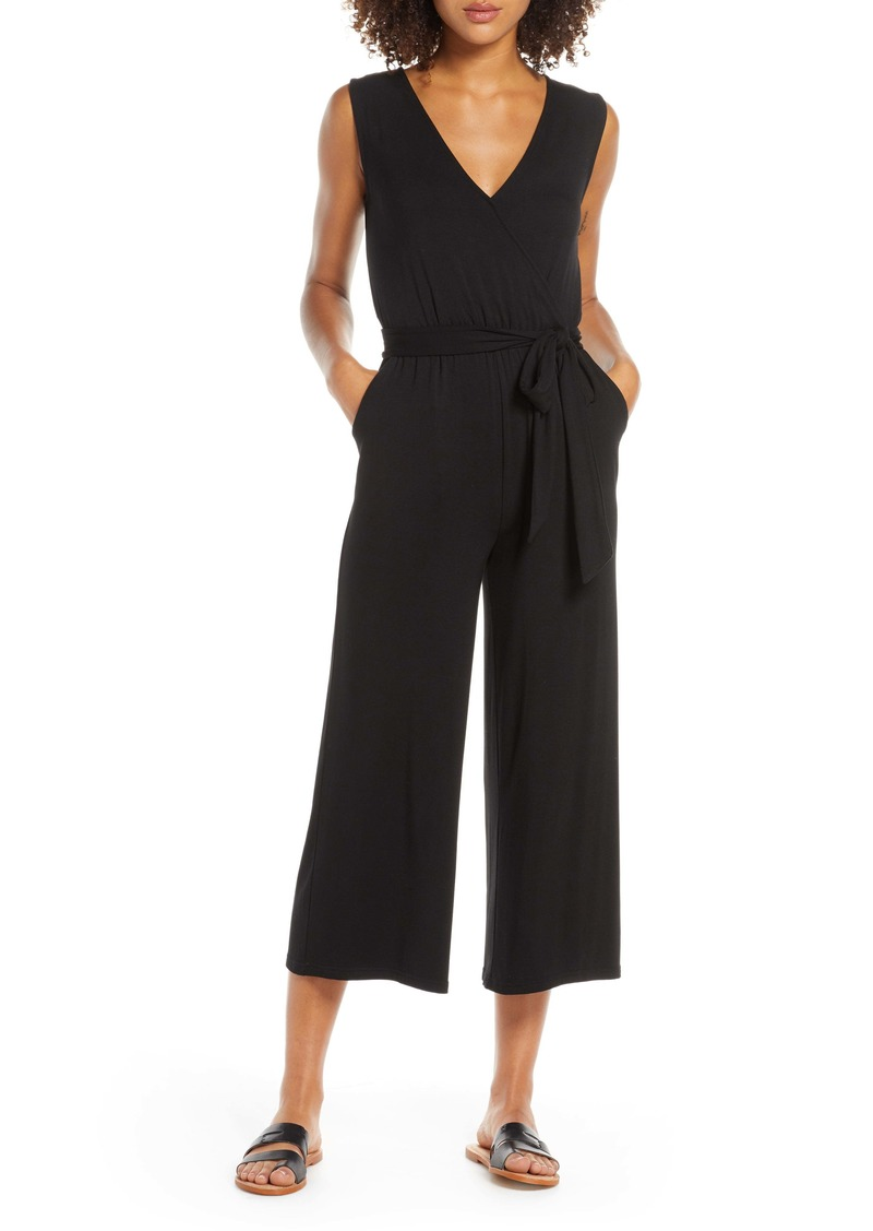 BB Dakota Dream Street Knit Jumpsuit