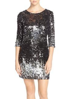 BB Dakota 'Elise' Ombré Sequin Sheath Dress