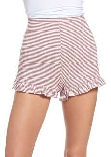 BB Dakota Embry Ruffle Hem Lounge Shorts