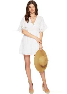 BB Dakota Ethel Lace Trim Dress