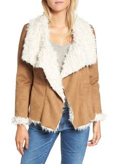 BB Dakota Fawn Faux Shearling Jacket